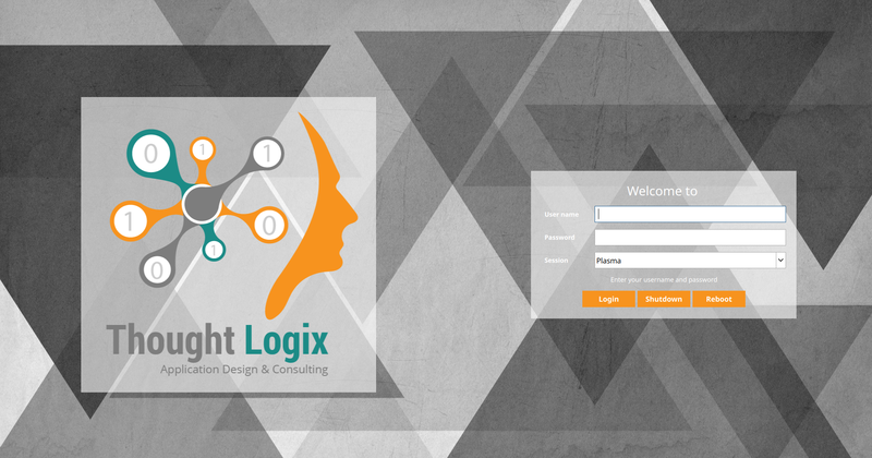 ThoughtLogix SDDM Theme